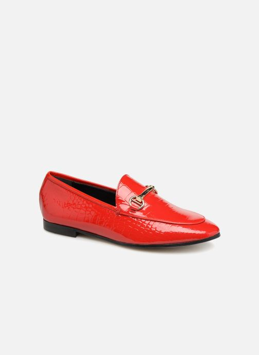 Loafers Dune London Guilt Red detailed view/ Pair view