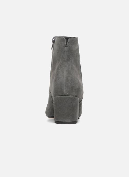Bottines et boots Dune London Olyvea Gris vue droite