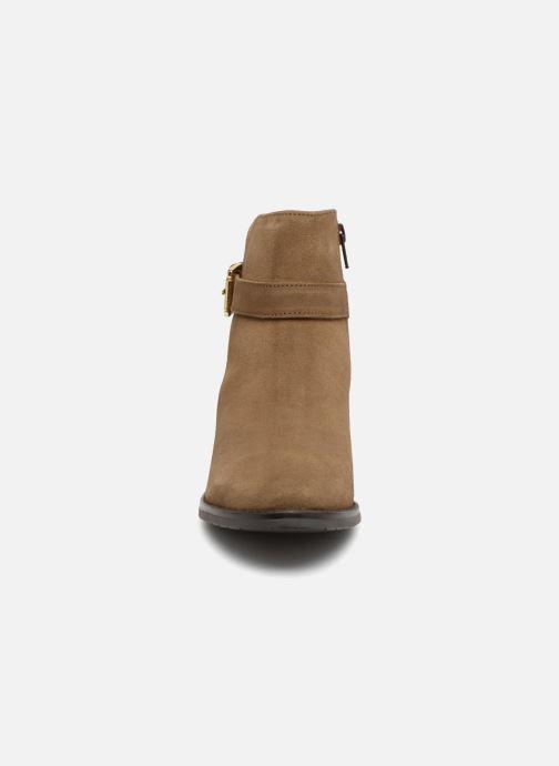 Bottines et boots Dune London Pheobie Marron vue portées chaussures
