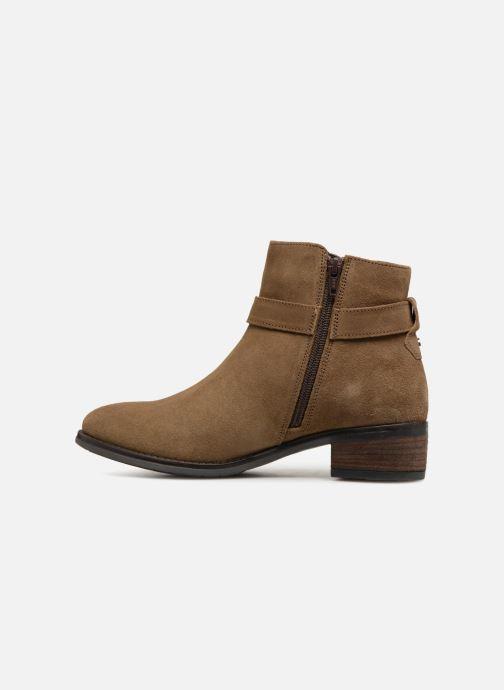 Bottines et boots Dune London Pheobie Marron vue face