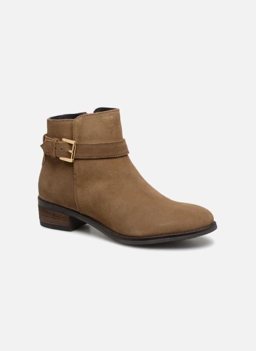 Bottines et boots Dune London Pheobie Marron vue détail/paire