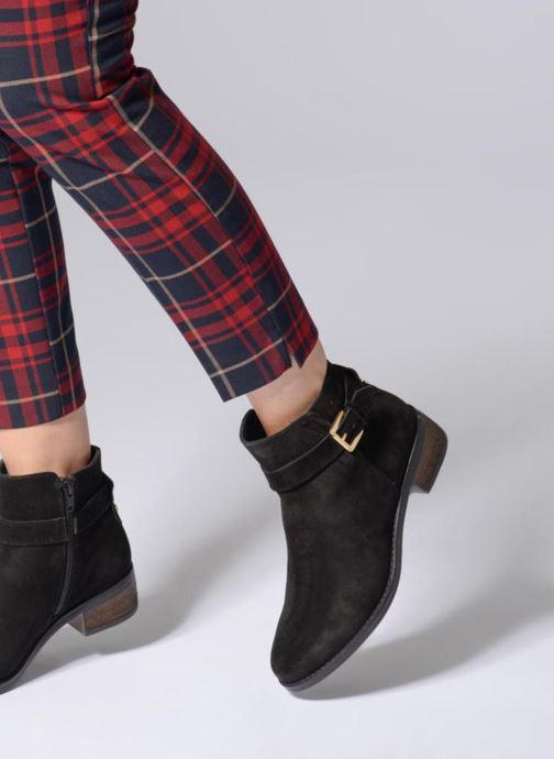 Stiefeletten & Boots Dune London Pheobie schwarz ansicht von unten / tasche getragen