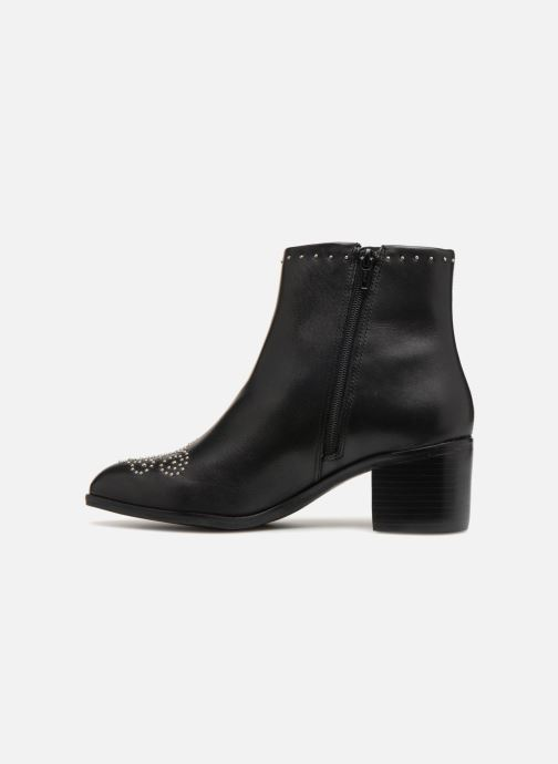 Bottines et boots Dune London Queenies Noir vue face