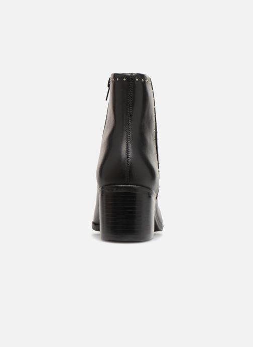 Bottines et boots Dune London Queenies Noir vue droite
