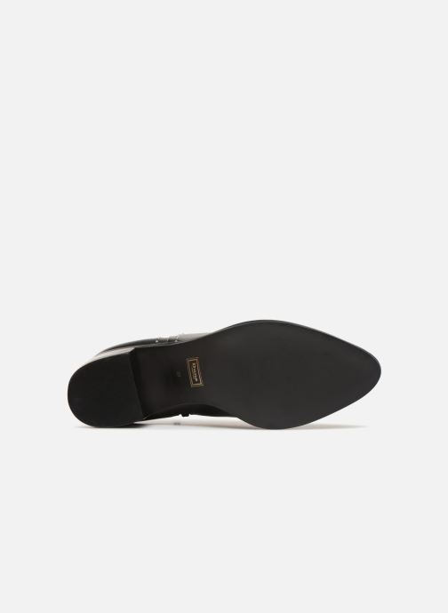 Bottines et boots Dune London Queenies Noir vue haut