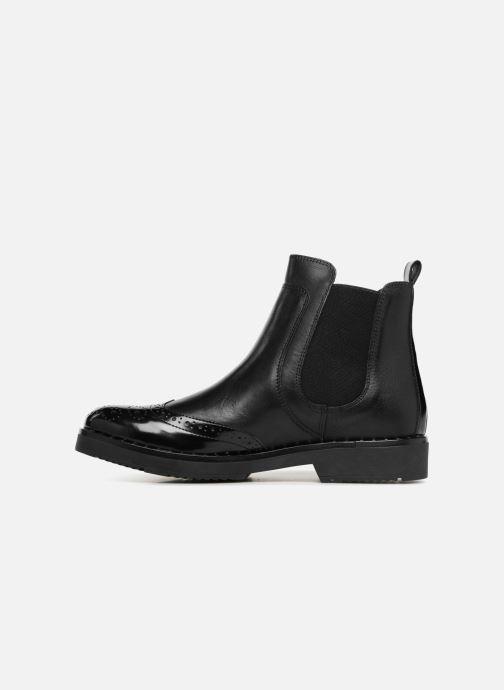 Bottines et boots Dune London Quark Noir vue face