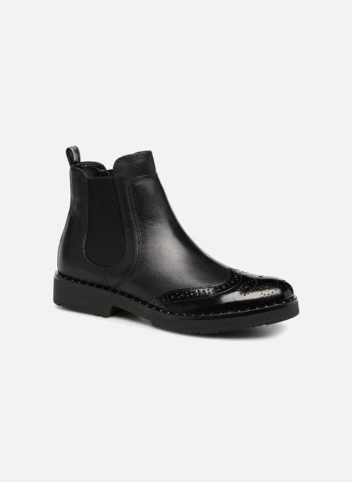 Bottines et boots Dune London Quark Noir vue détail/paire