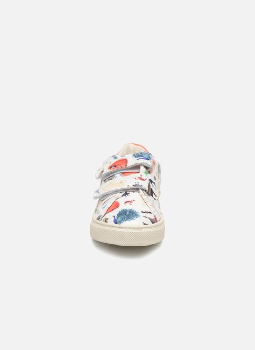 Trainers Veja Esplar Oliver Jeffers Animals Multicolor model view