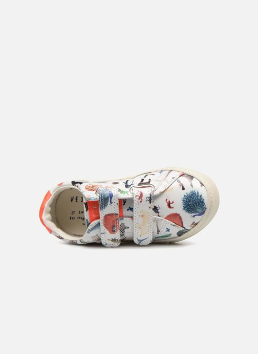 Trainers Veja Esplar Oliver Jeffers Animals Multicolor view from the left