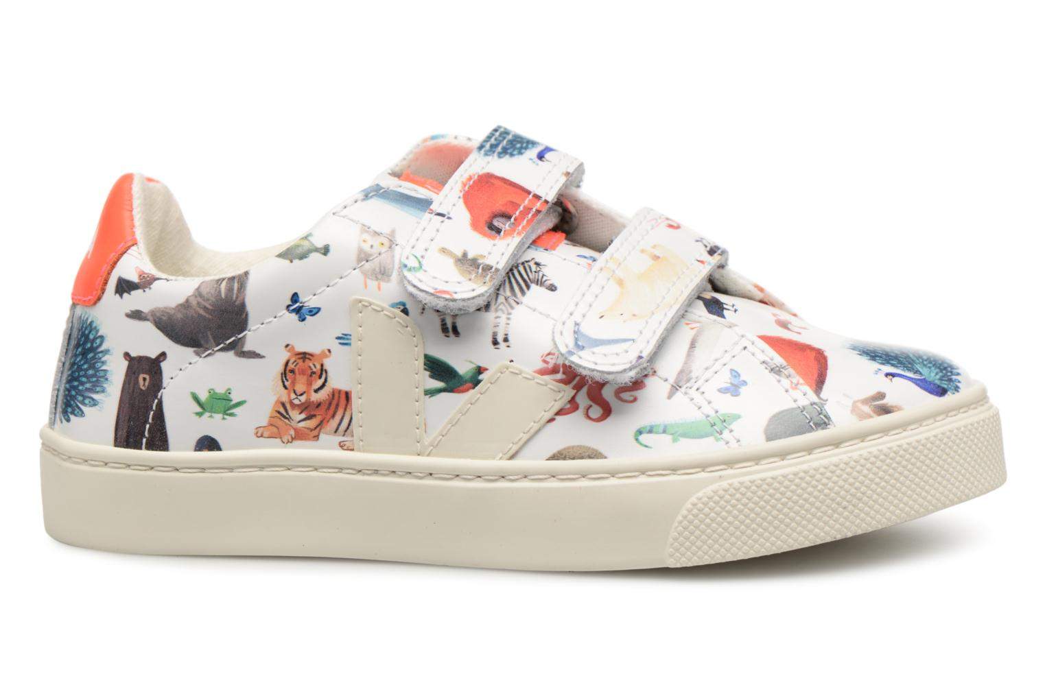 Trainers Veja Esplar Oliver Jeffers Animals Multicolor back view