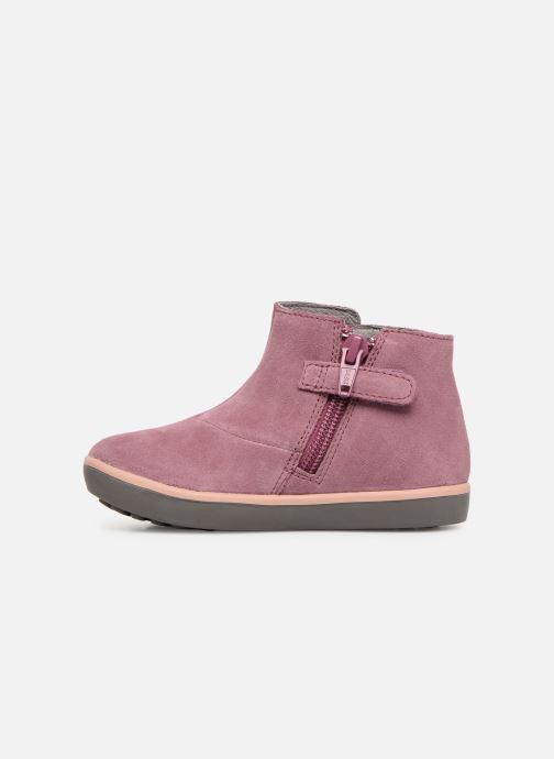 Ankle boots Camper Pursuit K1 Purple front view