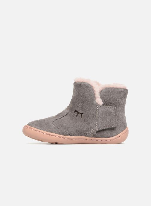 Ankle boots Camper Peu Cami K1 Grey front view