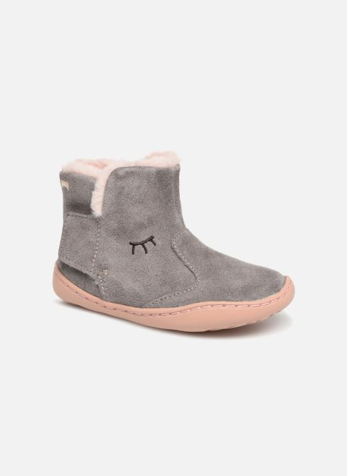 Ankle boots Camper Peu Cami K1 Grey detailed view/ Pair view