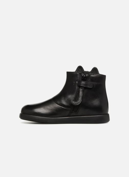 Ankle boots Camper Duet Black front view