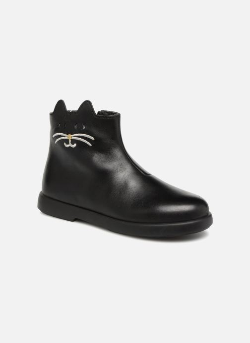 Ankle boots Camper Duet Black detailed view/ Pair view