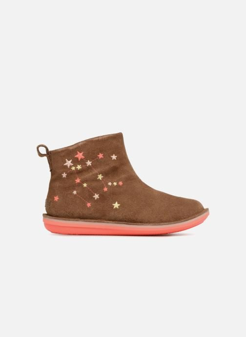 Ankle boots Camper TWS stars Brown back view