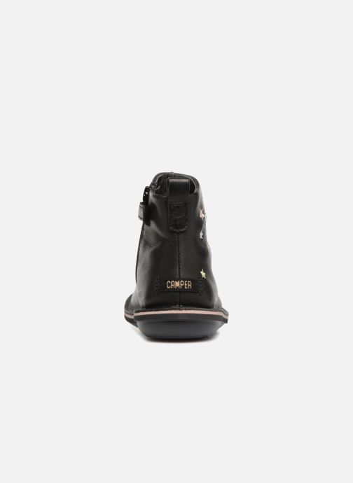 Ankle boots Camper TWS stars Black view from the right