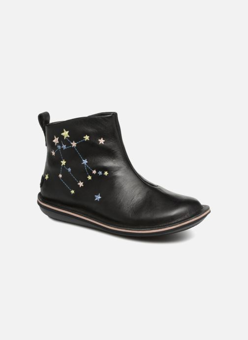 Ankle boots Camper TWS stars Black detailed view/ Pair view