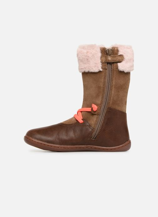 Boots & wellies Camper Peu Cami K2 Brown front view