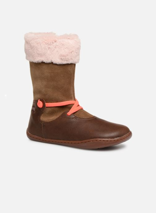 Boots & wellies Camper Peu Cami K2 Brown detailed view/ Pair view