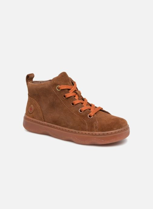Trainers Camper Kido 4 Brown detailed view/ Pair view