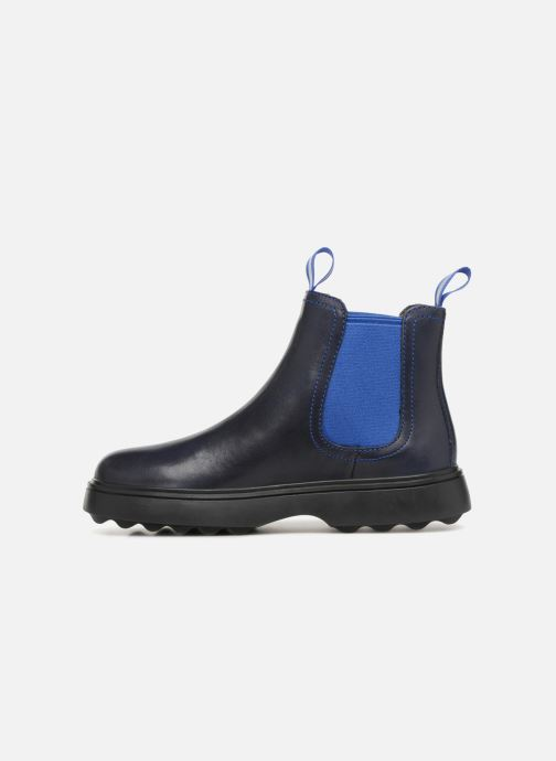 Ankle boots Camper Norte 1 Blue front view