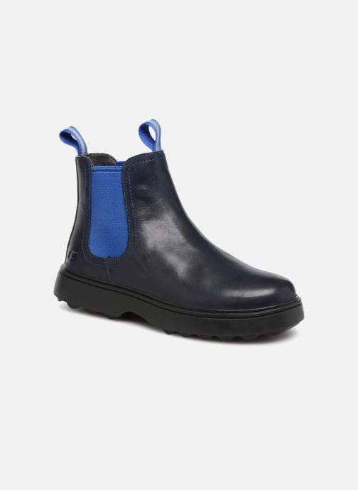 Ankle boots Camper Norte 1 Blue detailed view/ Pair view