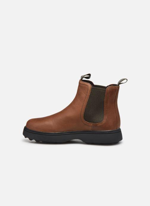 Boots en enkellaarsjes Camper Norte 1 Bruin voorkant
