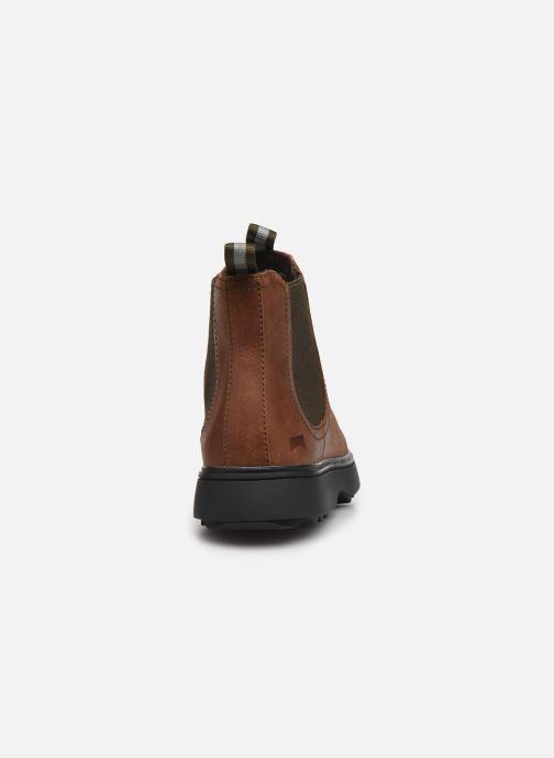 Boots en enkellaarsjes Camper Norte 1 Bruin rechts