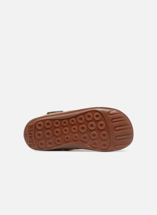 Baskets Camper TWS Lion Marron vue haut