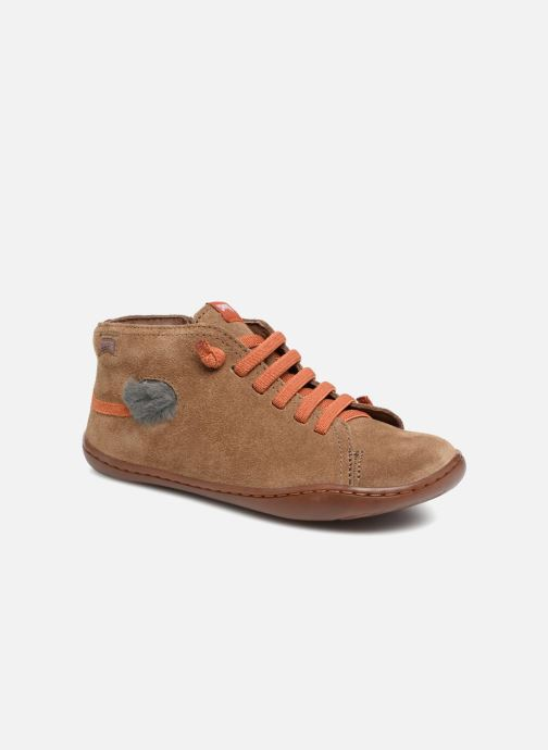 Trainers Camper TWS Lion Brown detailed view/ Pair view