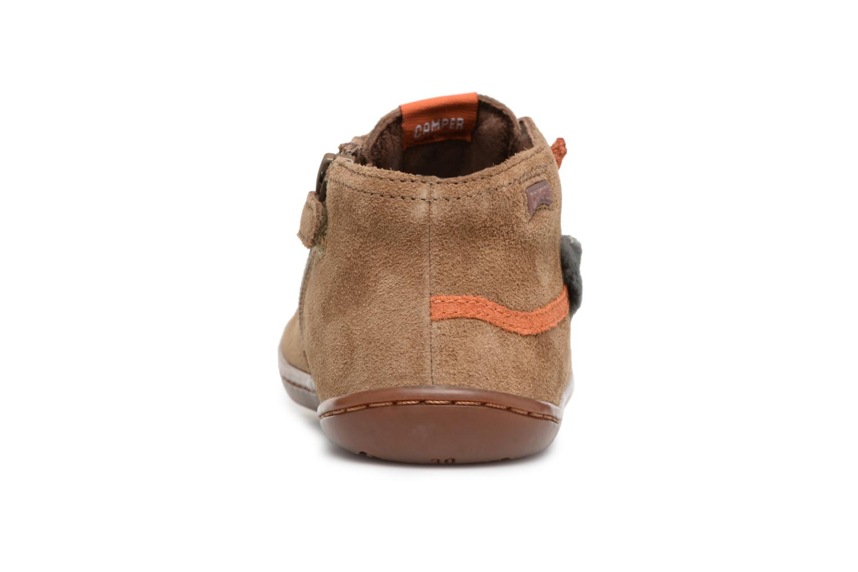 Sneakers Camper TWS Lion Marrone immagine destra