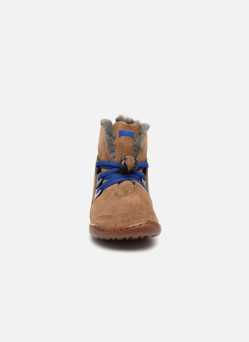 Ankle boots Camper TWS K1 Brown model view