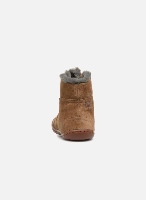 Ankle boots Camper TWS K1 Brown view from the right