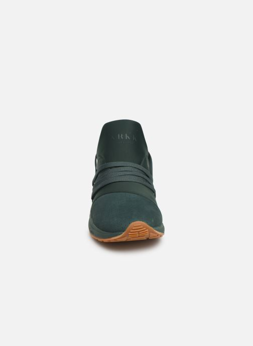 Trainers ARKK COPENHAGEN Raven Nubuck S-E15 Green model view