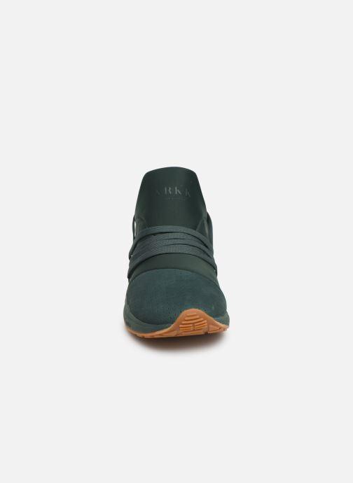 Baskets ARKK COPENHAGEN Raven Nubuck S-E15 Vert vue portées chaussures