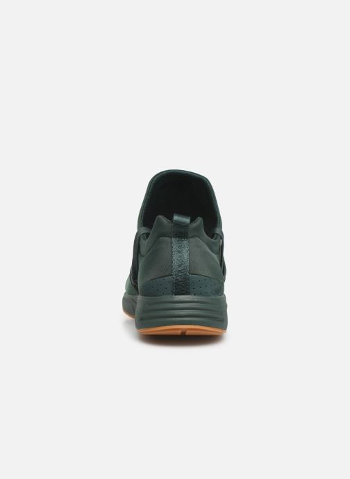 Trainers ARKK COPENHAGEN Raven Nubuck S-E15 Green view from the right