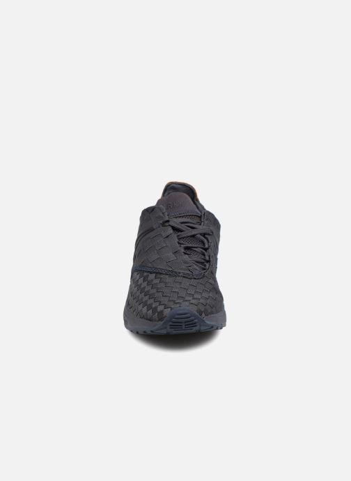 Baskets ARKK COPENHAGEN Eaglezero Braided S-E15 W Noir vue portées chaussures