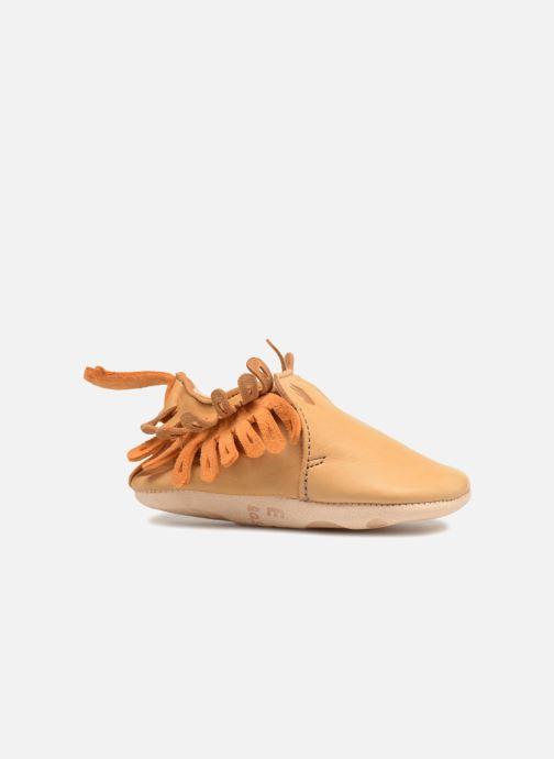Pantofole Easy Peasy Frangette Marrone immagine posteriore
