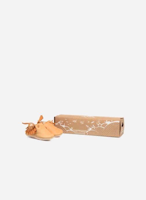 Hausschuhe Easy Peasy Frangette braun detaillierte ansicht/modell