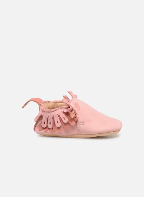 Pantoffels Easy Peasy Frangette Roze achterkant