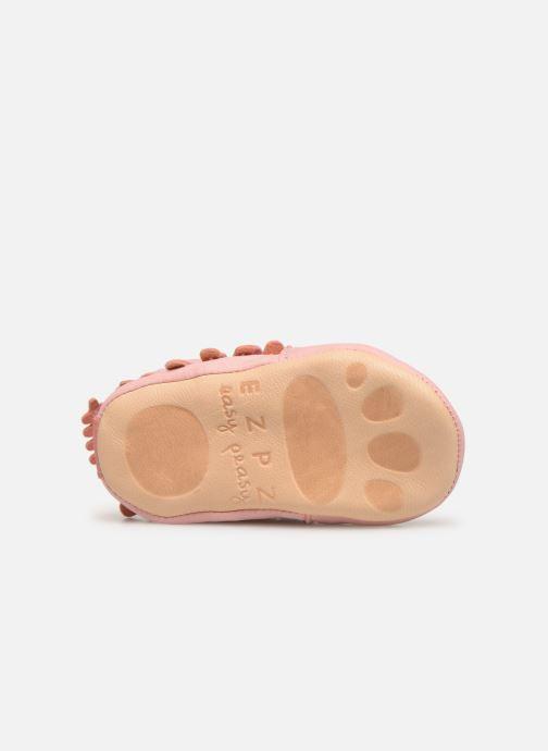 Pantofole Easy Peasy Frangette Rosa immagine dall'alto