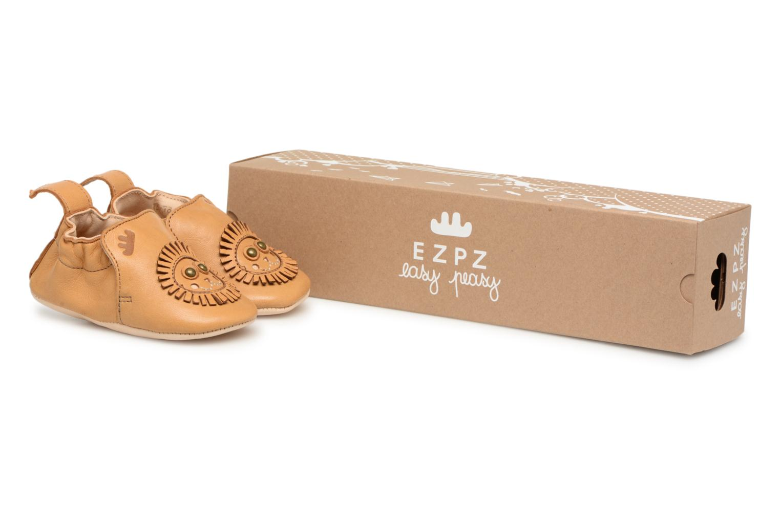 6d8cde200154b Easy Peasy Blumoo Lion (Brown) - Slippers chez Sarenza (327927)