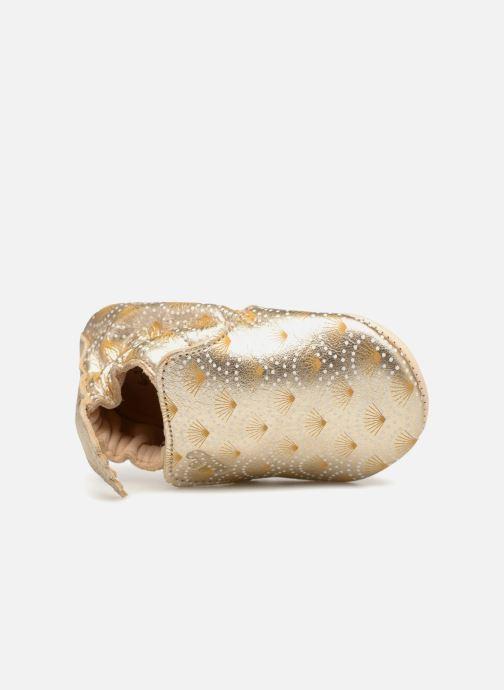 Pantoffels Easy Peasy Blumoo Palmette Goud en brons links