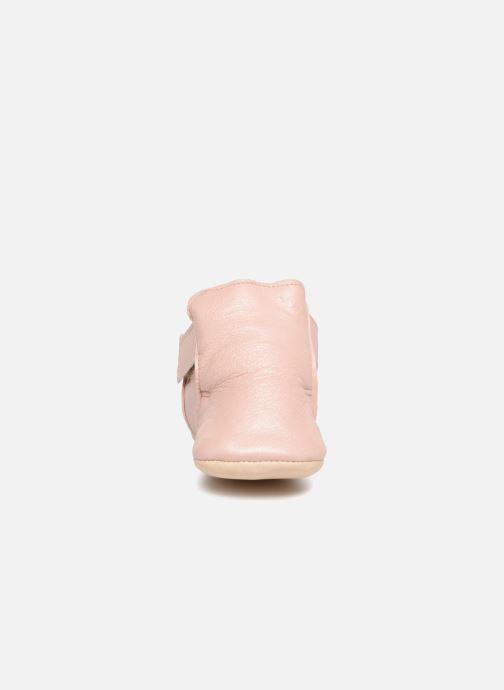 Pantofole Easy Peasy Cosymoo Rosa modello indossato