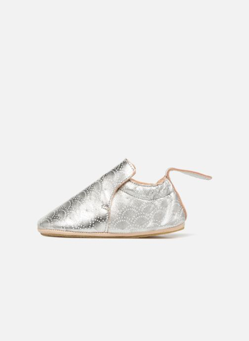 Slippers Easy Peasy Blublu Patin Palmette Silver front view