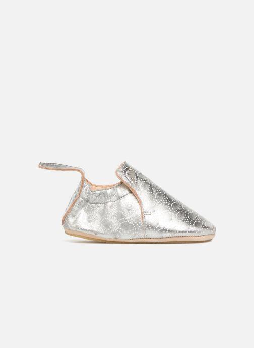 Slippers Easy Peasy Blublu Patin Palmette Silver back view