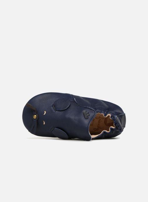 Chaussons Easy Peasy Blublu Patin Mouse Bleu vue gauche