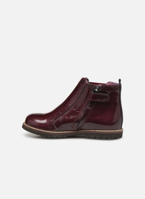 Ankle boots Little Mary Florence Burgundy front view