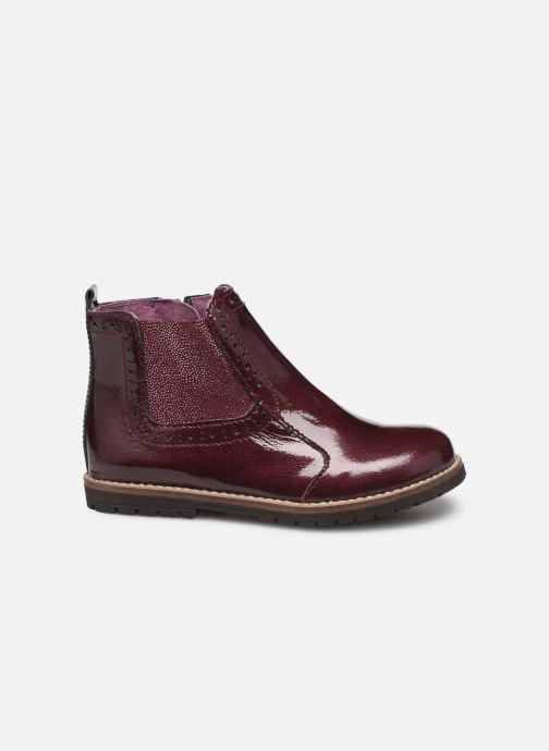 Ankle boots Little Mary Florence Burgundy back view